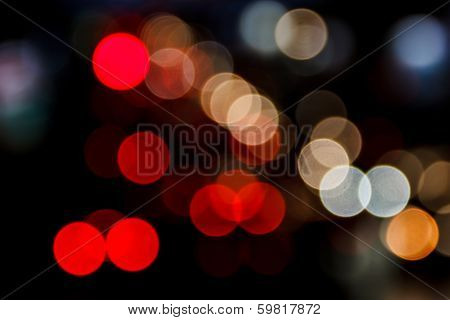 Night Bokeh Background