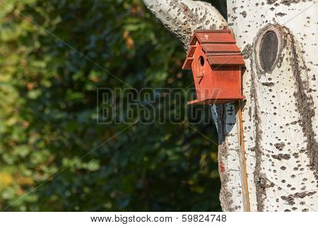 Red Nesting Box