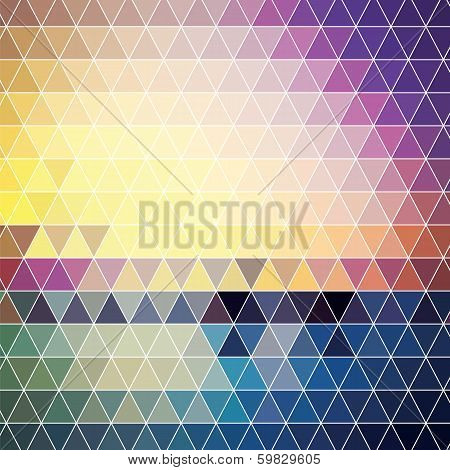 Abstract geometric colorful background, pattern design, vector illustration