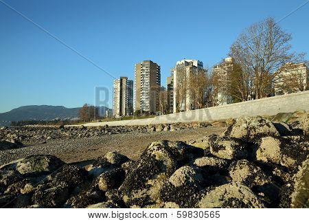 English Bay Seawall, Vancouver