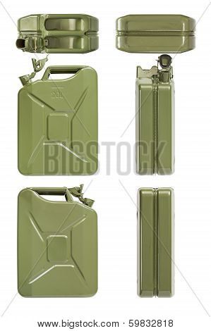 Jerrycan opened