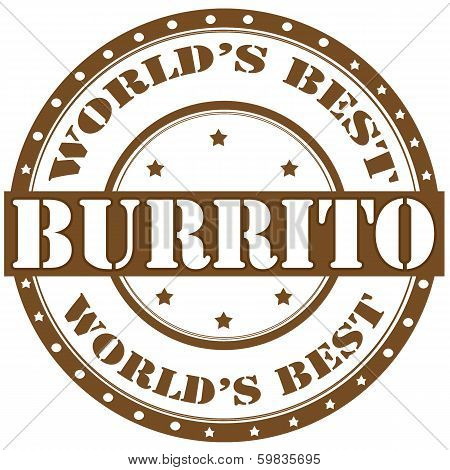 Burrito-label