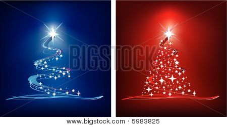 Christmas Trees illustration