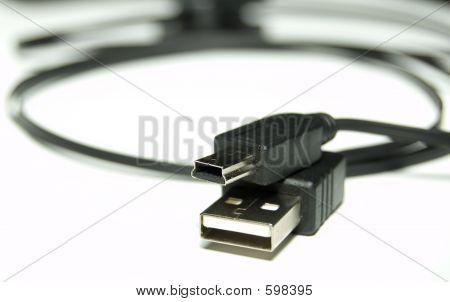 Black USB