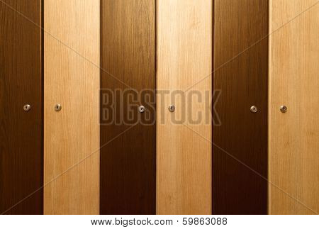 Brown Lockers