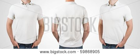 Three Man In T-shirt
