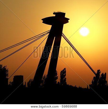 Sunrise In Bratislava