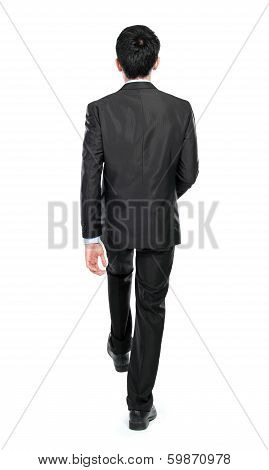 Businessman Step Up The Stairs