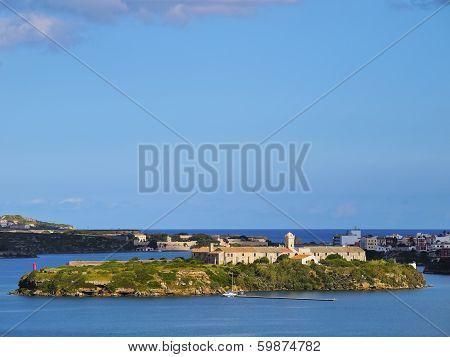 Rey Island In Mahon On Minorca