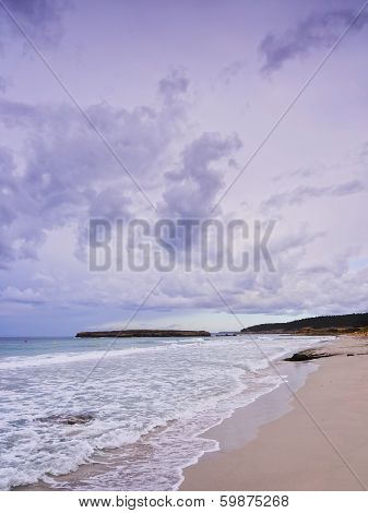 Sant Tomas Beach On Minorca