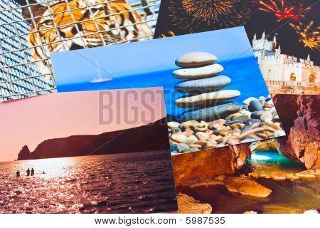 Heap Of Photo Printouts (my Photos)