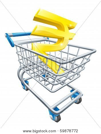 Rupee Money Trolley Concept