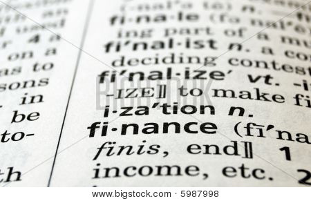 Finance Defined