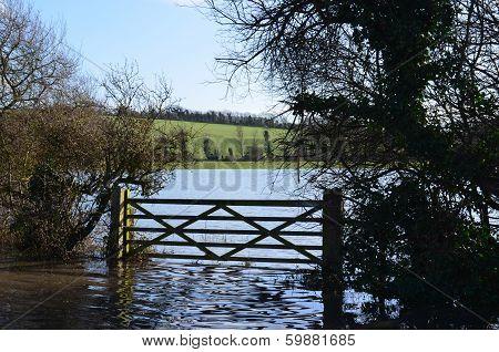 Winter floods.