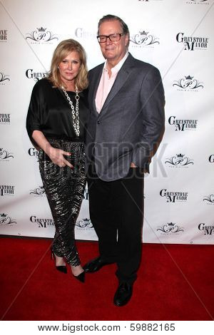 LOS ANGELES - FEB 15:  Rick Hilton, Kathy Hilton at the Paris Hilton Birthday Party, at Greystone Manor on February 15, 2014 in Los Angeles, CA