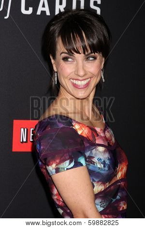 LOS ANGELES - FEB 13:  Constance Zimmer at the