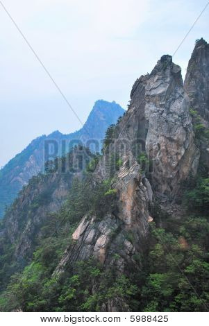 Treacherous Mountain Cliffs