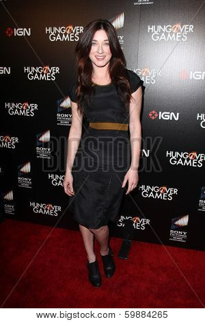 LOS ANGELES - FEB 11:  Margo Harshman at the