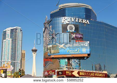 Riviera Hotel And Casino In Las Vegas