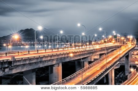 Interchange With Cars Light