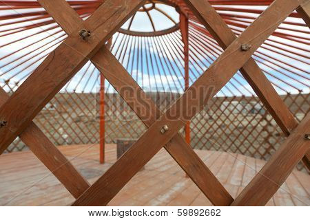The Construction Of The Yurt