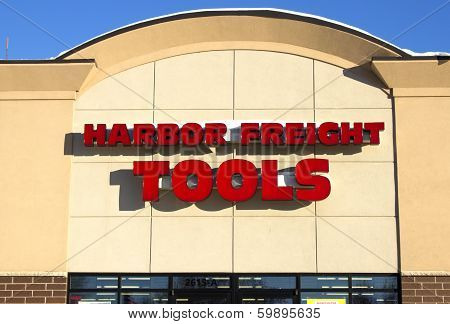 Harbor Freight Storefront
