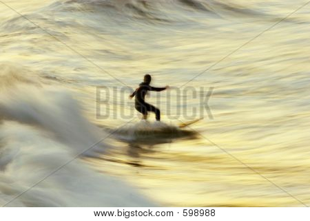 Sunset Surfer Bur