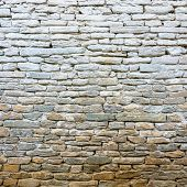 Whitewash old stone wall texture