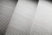 foto of louvers  - Abstract photo background with white louvers layers - JPG
