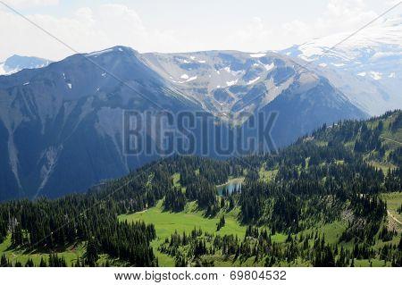 Alpine Scene in the Pacific Northwest