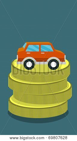 money for car