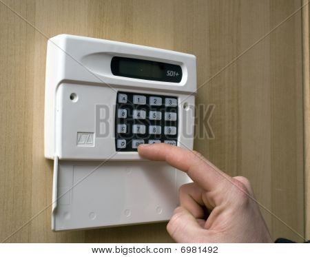 Setting An Intruder Alarm