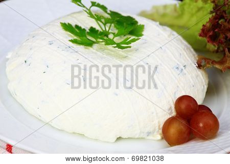 Cream Cheese With Cut Chives Inside