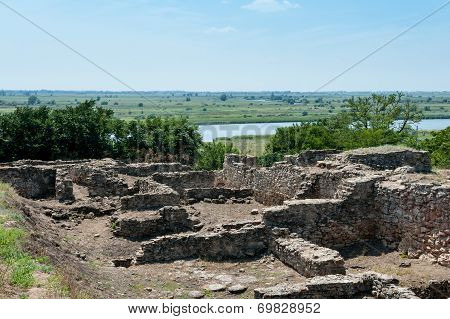 Old ruins of Greek colony