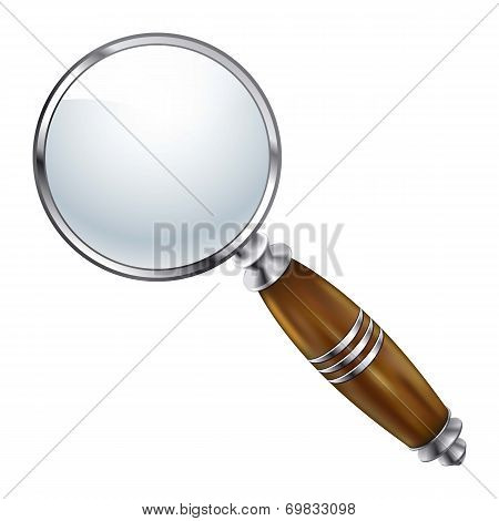 Magnifying lens Search vectpr