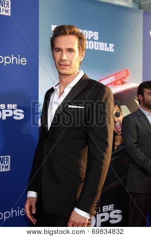 LOS ANGELES - AUG 7:  James D'Arcy at the