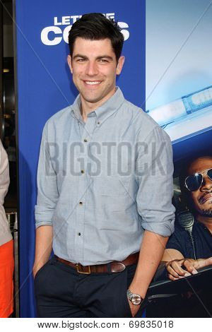 LOS ANGELES - AUG 7:  Max Greenfield at the