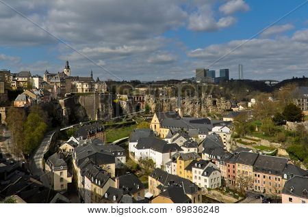 Luxembourg City Old Town