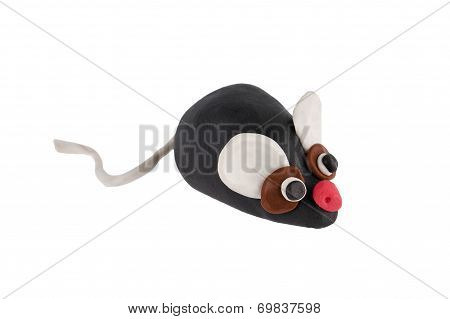 House Mouse Made Of Plasticine