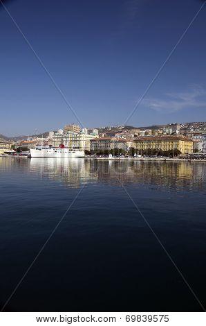 Mediterranean Port Of Rijeka