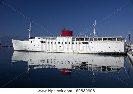 Ship Botel In Rijeka,Croatia