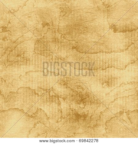 Grunge brown paper texture (water color seamless background)