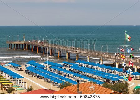 Marina Di Pietrasanta beach