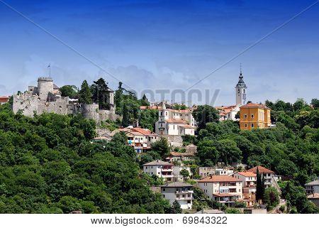 Trsat Castle In Rijeka Croatia - Gradina