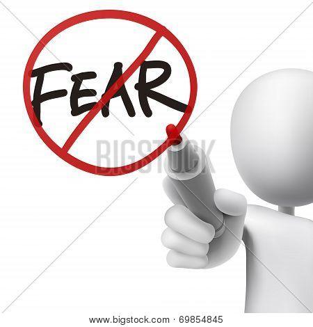 No Fear Drawn By A Man