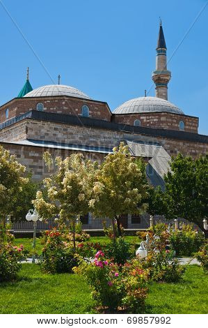 Mevlana Museum And Mausoleum At Konya Turkey