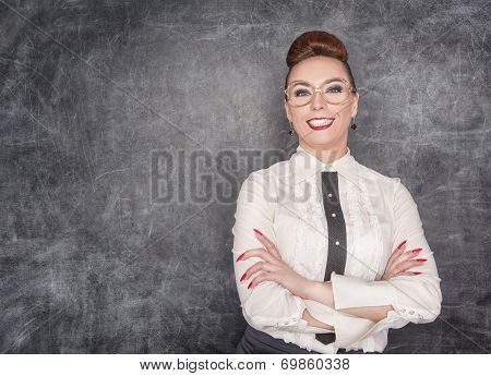 Smiling Teacher