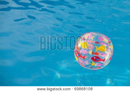 Background Ball In The Pool