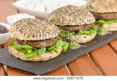 Gourmet Hamburgers