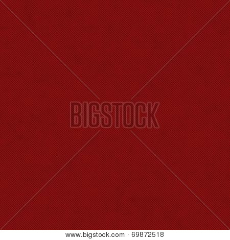 Red Thin Diagonal Striped Textured Fabric Background
